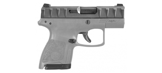 Beretta, APX <b>Carry Wolf Gray</b>, <b>Striker Action</b>, Kal. 9mm Para/Luger/9x19, 17 Schuss