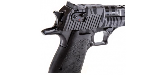 Magnum Research Desert Eagle, Mark XIX-2 (USA/2015), Kal. .50AE / .44, Black with Tiger Stripes, 6'' Lauf