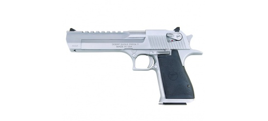 Magnum Research, Desert Eagle Mark XIX-2 (USA/2015), Kal. .50AE / .44 oder .357 Magnum, Brushed/Polished/Matte Chrome, 6'' Lauf